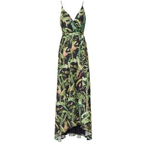 Hutch | Printed Leah jungle Maxi dress | XXL